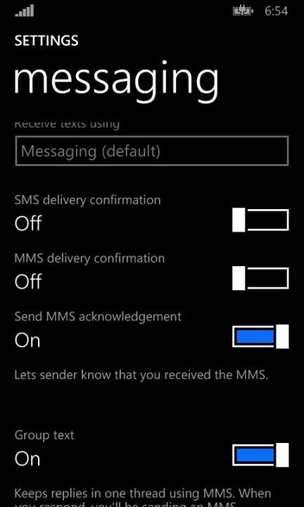 how to change default sms app