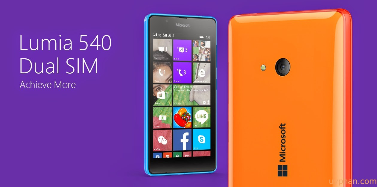 Meet the New Lumia 540!
