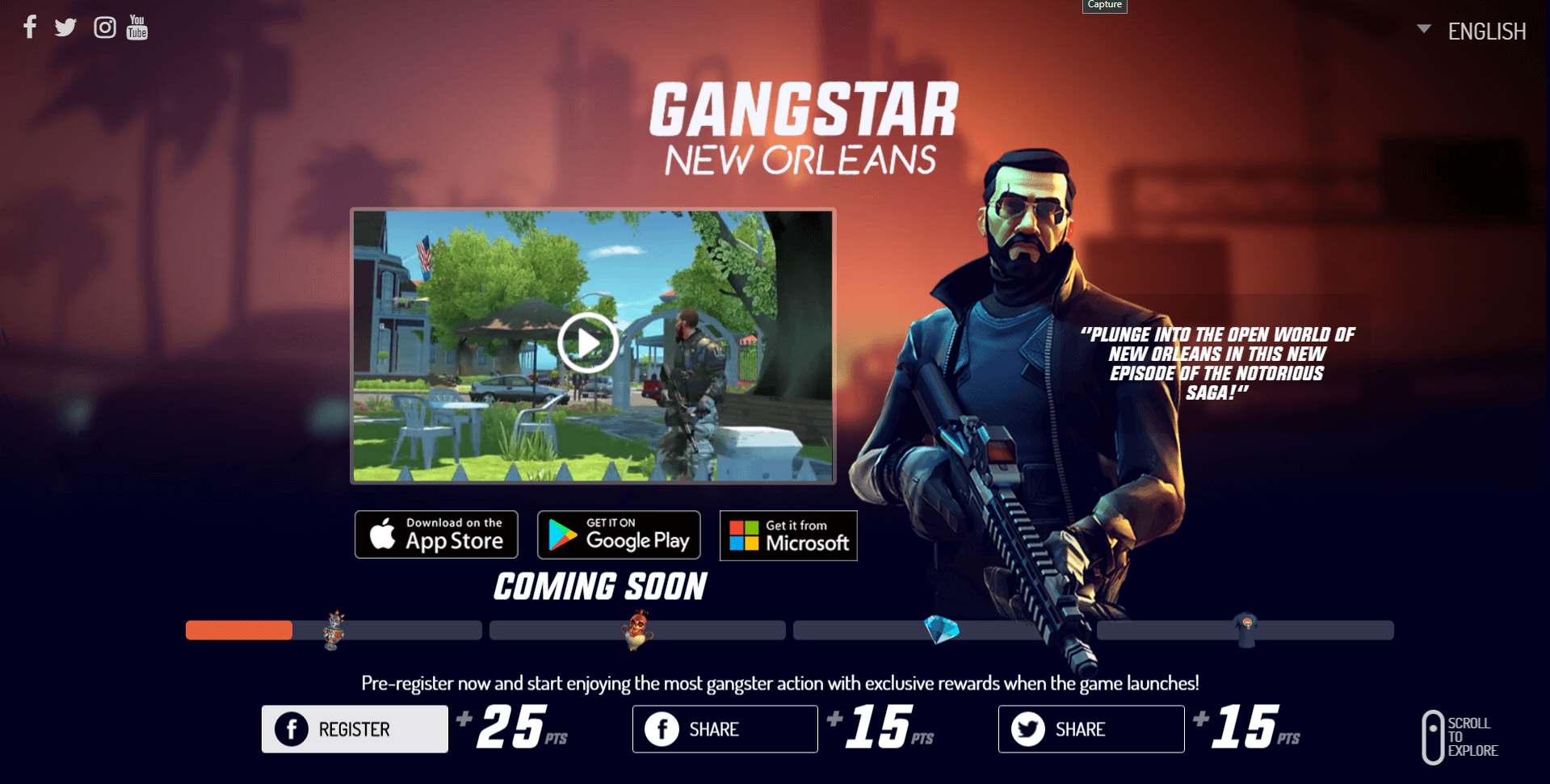gangstar new orleans a new open world game from gameloft is coming to windows phone onetechstop. Black Bedroom Furniture Sets. Home Design Ideas