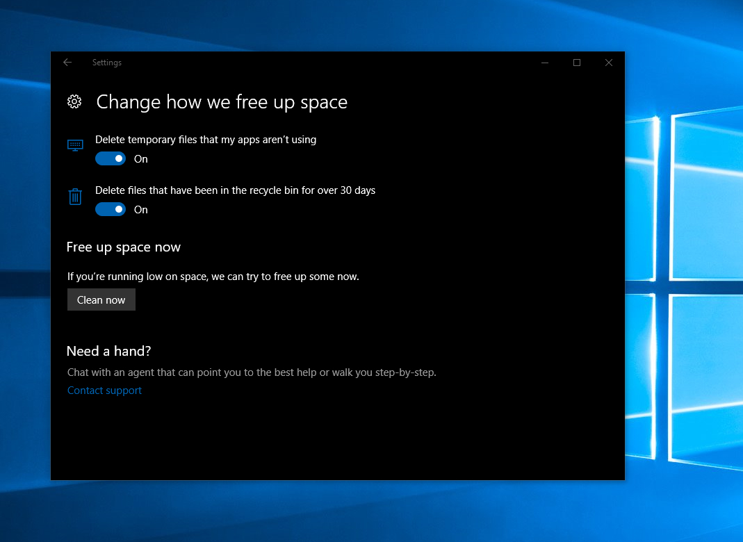 windows-10-free-up-space