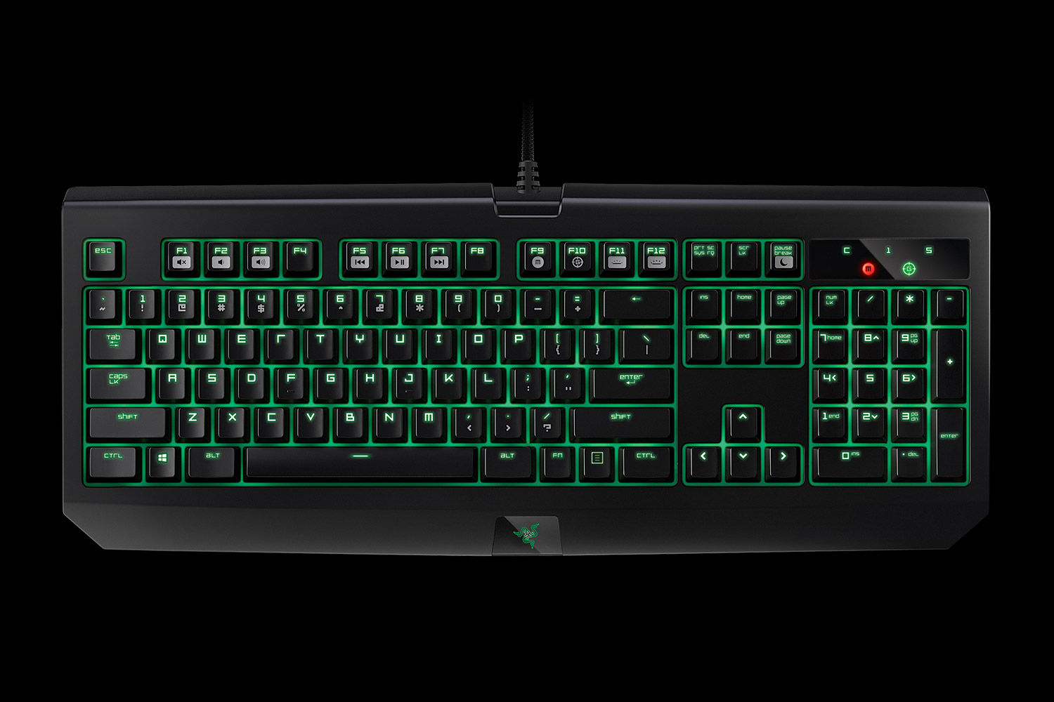 b50b2902aca The Razer BlackWidow Ultimate features individually backlit keys that are  customizable through Razer's Synapse software. It also comes with the Razer  ...
