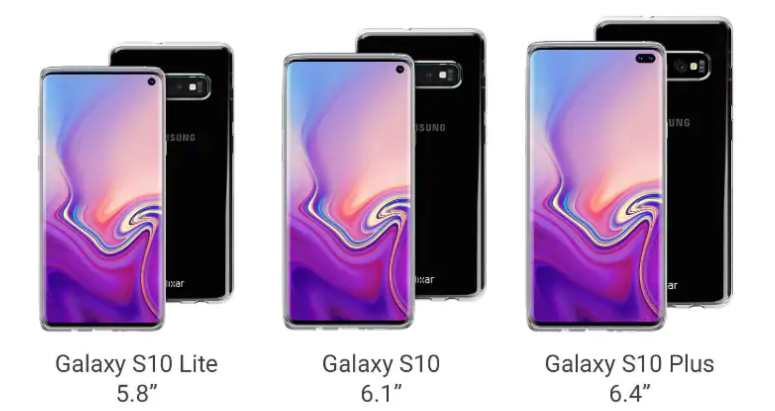 Could this be what the Galaxy S10 range looks like?