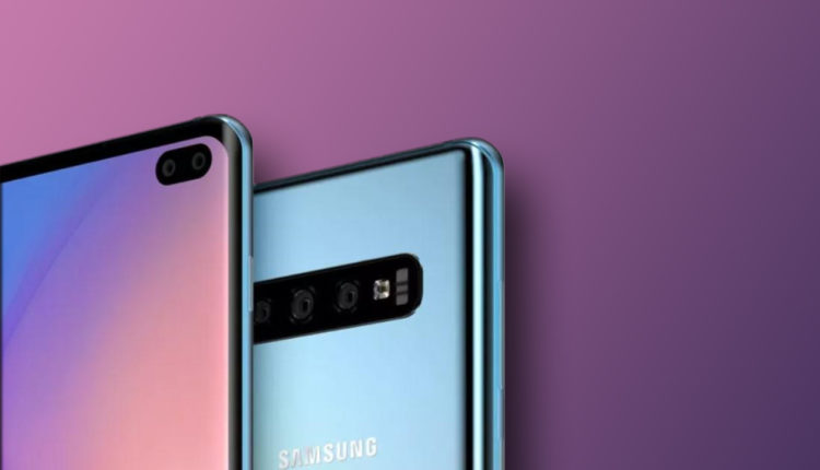 Galaxy S10 and Galaxy Buds