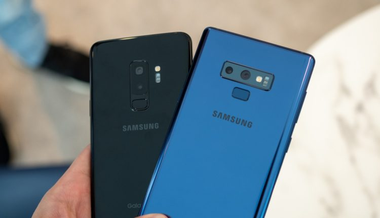 AT&T Galaxy S9, Sprint Galaxy Note 9, Galaxy Note 10 Pro